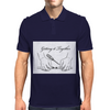 Getting it together line illustration, hose repair how to Mens Polo