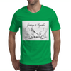 Getting it together line illustration, hose repair how to Mens T-Shirt