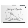 Getting it together line illustration, hose repair how to Tablet (horizontal)