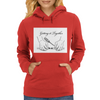 Getting it together line illustration, hose repair how to Womens Hoodie