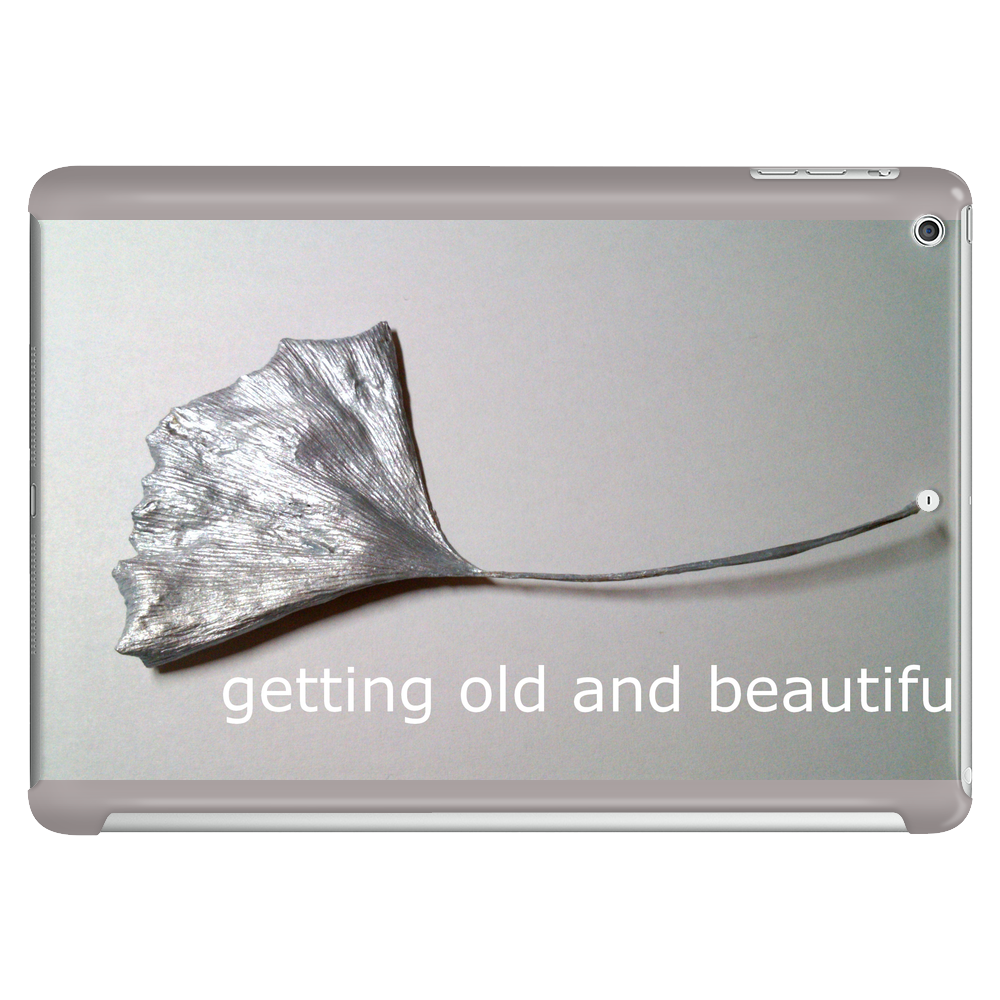 getting old and beautiful Tablet (horizontal)