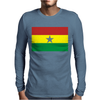 Ghana International Support Your Country  Sport Flag Mens Long Sleeve T-Shirt