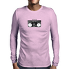 Ghetto Blaster Invert Mens Long Sleeve T-Shirt