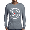 Ghost Logo Design Mens Long Sleeve T-Shirt
