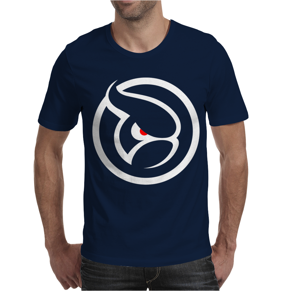Ghost Logo Design Mens T-Shirt