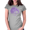 Ghost Moonwalk Womens Fitted T-Shirt