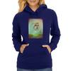 Ghost Of Earth Womens Hoodie