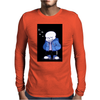 ghost white Mens Long Sleeve T-Shirt