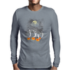 Ghosts Of Halloween Mens Long Sleeve T-Shirt