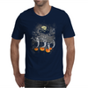 Ghosts Of Halloween Mens T-Shirt