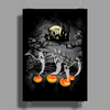Ghosts Of Halloween Poster Print (Portrait)