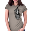 giant tiger vs psychic fish Womens Fitted T-Shirt