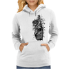 giant tiger vs psychic fish Womens Hoodie