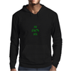 Giants are bigger than average green Mens Hoodie