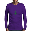Giants are bigger than average green Mens Long Sleeve T-Shirt