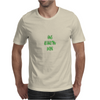 Giants are bigger than average green Mens T-Shirt