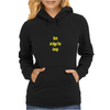 Giants are bigger than average yellow Womens Hoodie