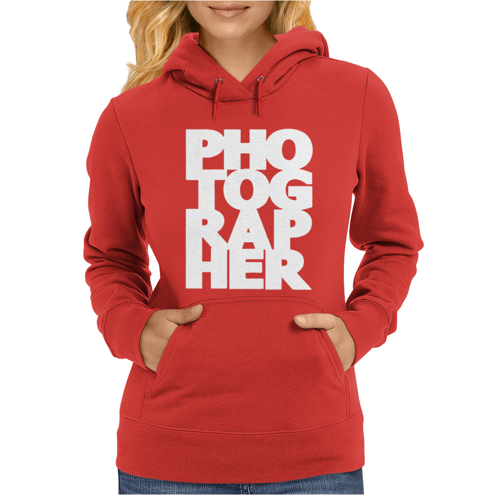 Gift For Photographer Womens Hoodie