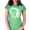 Gift Headphones Womens Fitted T-Shirt