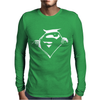 Gift Superman Mens Long Sleeve T-Shirt