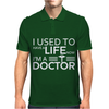 Gifts For Doctors Medical Shirt Profession Joke Nerd Mens Polo