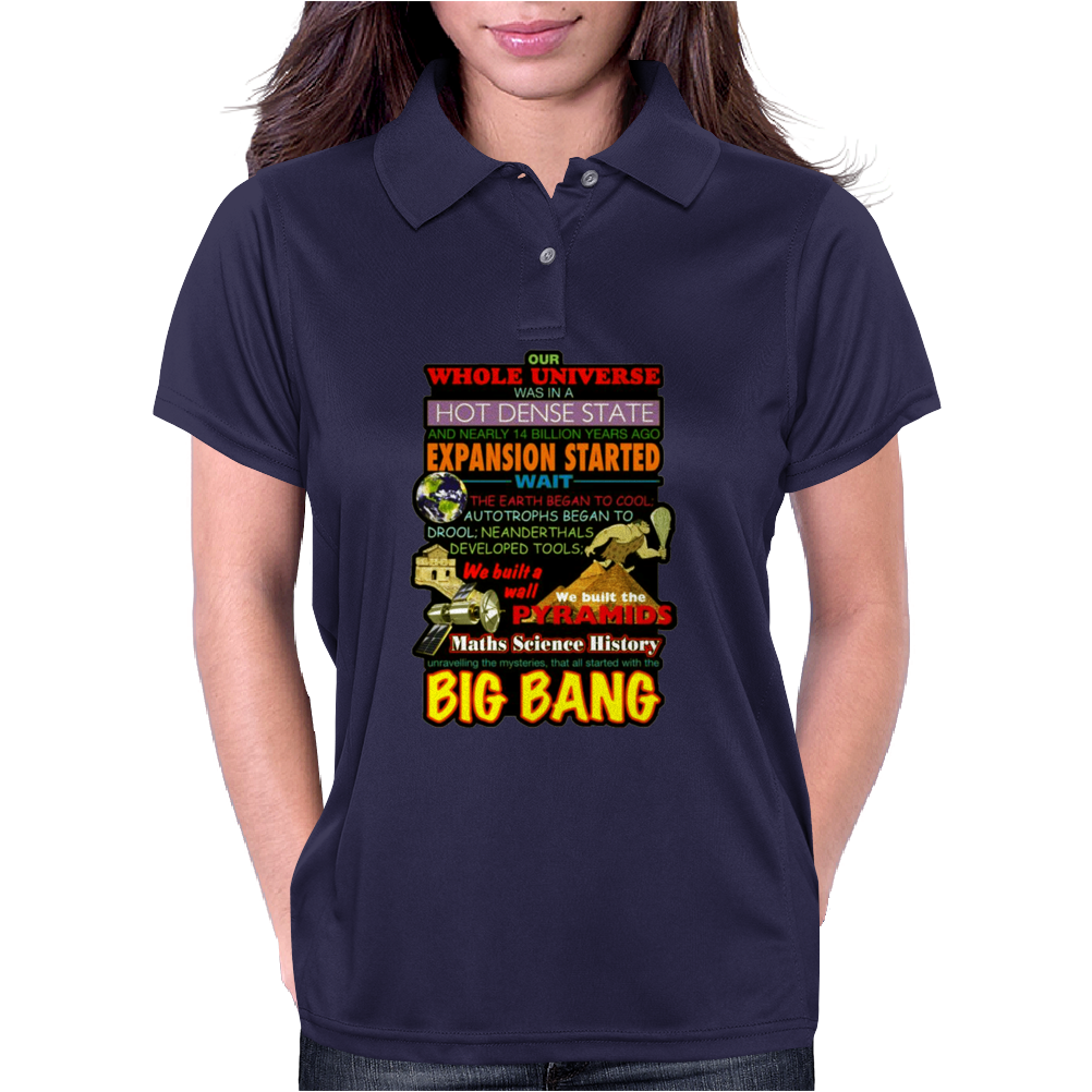 Gildan  Big Bang Theory Lyrics 2, Ideal Gift, Birthday Present Womens Polo