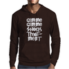 Gimme Shock Treatment Mens Hoodie