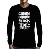 Gimme Shock Treatment Mens Long Sleeve T-Shirt
