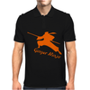 Ginger Ninja Proud Red Head Mens Polo