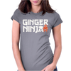 Ginger Ninja Womens Fitted T-Shirt