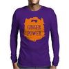 Ginger Power Mens Long Sleeve T-Shirt