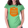 Ginger Power Womens Fitted T-Shirt