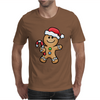Gingerbread Santa Mens T-Shirt