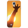 Giraffe Silhouette - Beauty of Color and Freedom Phone Case