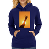 Giraffe Silhouette - Beauty of Color and Freedom Womens Hoodie
