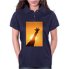 Giraffe Silhouette - Beauty of Color and Freedom Womens Polo
