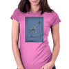 GIRAFFE Womens Fitted T-Shirt