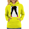 Girl in Red Thong Womens Hoodie