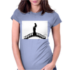 Girl in the Bridge Womens Fitted T-Shirt