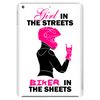 Girl in the streets biker in the sheets Tablet