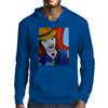 Girl On A Train Mens Hoodie