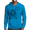 Girl Tatto Bat Mens Hoodie