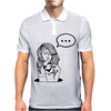 Girl Tatto Bat Mens Polo