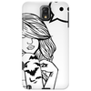 Girl Tatto Bat Phone Case
