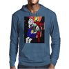 GIRL WITH BOOK Mens Hoodie