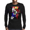 GIRL WITH BOOK Mens Long Sleeve T-Shirt