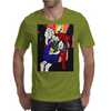 GIRL WITH BOOK Mens T-Shirt