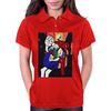 GIRL WITH BOOK Womens Polo