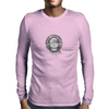 Girl with headphones Mens Long Sleeve T-Shirt