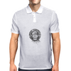 Girl with headphones Mens Polo